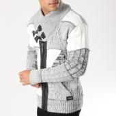 /achat-cardigans-gilets/classic-series-cardigan-5827-gris-chine-blanc-156542.html