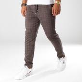 /achat-pantalons-carreaux/frilivin-pantalon-a-carreaux-1405-marron-156612.html