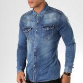 /achat-chemises-manches-longues/frilivin-chemise-manches-longues-ca600-bleu-denim-156656.html