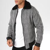 /achat-vestes/classic-series-veste-zippee-col-mouton-3026-gris-noir-156754.html