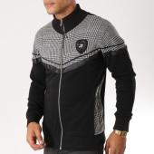 /achat-vestes/classic-series-veste-zippee-1125-noir-gris-chine-156757.html