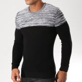 /achat-pulls/classic-series-pull-3258-noir-chine-gris-156764.html