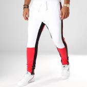 /achat-pantalons-joggings/classic-series-pantalon-jogging-ad2038-blanc-noir-rouge-156778.html