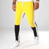 /achat-pantalons-joggings/classic-series-pantalon-jogging-ad2038-jaune-blanc-noir-156780.html
