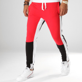 /achat-pantalons-joggings/classic-series-pantalon-jogging-ad2038-rouge-blanc-noir-156782.html