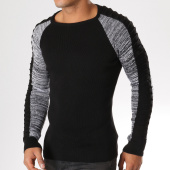 /achat-pulls/classic-series-pull-3254-noir-gris-chine-156829.html