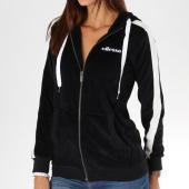 /achat-sweats-zippes-capuche/ellesse-sweat-zippe-capuche-femme-velours-1076-noir-156794.html