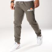 /achat-pantalons-joggings/ellesse-pantalon-jogging-molleton-classic-vert-kaki-chine-156806.html
