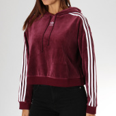/achat-sweats-capuche/adidas-sweat-capuche-velours-femme-crop-dh3115-bordeaux-156975.html