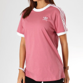 https://www.laboutiqueofficielle.com/achat-t-shirts/tee-shirt-femme-3-stripes-dh3141-rose-156976.html