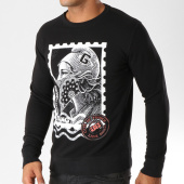 /achat-sweats-col-rond-crewneck/ghetto-fabulous-gang-sweat-crewneck-timbre-noir-156961.html