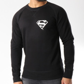 /achat-sweats-col-rond-crewneck/superman-sweat-crewneck-back-logo-noir-156993.html