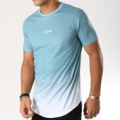 /achat-t-shirts-longs-oversize/304-clothing-tee-shirt-oversize-dip-dye-bleu-turquoise-degrade-blanc-157133.html