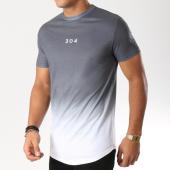 /achat-t-shirts-longs-oversize/304-clothing-tee-shirt-oversize-dip-dye-gris-anthracite-degrade-blanc-157137.html