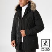 /achat-parkas/helvetica-parka-chauffante-avec-fourrure-expedition-ewarm-noir-157087.html