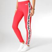 /achat-leggings/fila-legging-femme-avec-bandes-holly-682122-rouge-blanc-157211.html