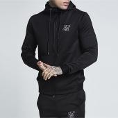 /achat-sweats-zippes-capuche/siksilk-sweat-zippe-capuche-agility-zip-13327-noir-157215.html