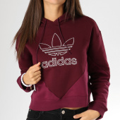https://www.laboutiqueofficielle.com/achat-sweats-capuche/sweat-capuche-femme-crop-clrdo-dh3006-bordeaux-157361.html