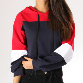 /achat-sweats-capuche/girls-only-sweat-capuche-crop-femme-18191-bleu-marine-blanc-rouge-157341.html