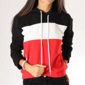 /achat-sweats-capuche/girls-only-sweat-capuche-femme-2427-noir-blanc-rouge-157344.html