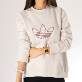 https://www.laboutiqueofficielle.com/achat-sweats-col-rond-crewneck/sweat-crewneck-femme-clrdo-dh3012-beige-157505.html
