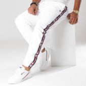 /achat-pantalons-joggings/champion-pantalon-jogging-avec-bandes-211950-blanc-157474.html