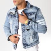 /achat-vestes-jean/classic-series-veste-jean-patchs-brodes-6386-bleu-clair-157432.html