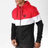 /achat-sweats-zippes-capuche/good-for-nothing-sweat-zippe-capuche-elite-noir-blanc-rouge-157377.html