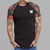 /achat-t-shirts-longs-oversize/good-for-nothing-tee-shirt-oversize-bloom-raglan-noir-floral-157379.html