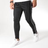 /achat-pantalons-joggings/good-for-nothing-pantalon-jogging-avec-bandes-vector-noir-157387.html