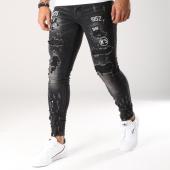 /achat-jeans/mtx-jean-slim-patchs-brodes-ke6600-noir-157404.html