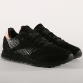 /achat-baskets-basses/reebok-baskets-femme-classic-leather-cn3738-black-rose-gold-157454.html