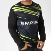 /achat-sweats-col-rond-crewneck/93-empire-sweat-crewneck-93-empire-sport-noir-jaune-157780.html