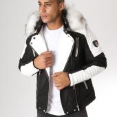 /achat-vestes-biker/adw-58-veste-biker-fourrure-mz8070-noir-blanc-157613.html