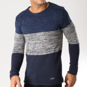 /achat-pulls/brave-soul-pull-grey-bleu-marine-gris-chine-157626.html