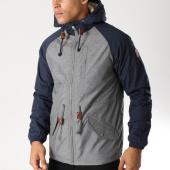 /achat-vestes/element-veste-zippee-capuche-stark-gris-chine-bleu-marine-157705.html