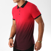 /achat-polos-manches-courtes/lbo-polo-manches-courtes-553-rouge-degrade-157751.html