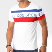 /achat-t-shirts/le-coq-sportif-tee-shirt-essential-n5-blanc-bleu-marine-rouge-157635.html