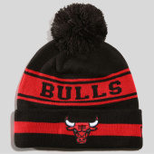 New Era , Bonnet Team Jake NBA Chicago Bulls 11794606 Noir Rouge