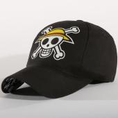 /achat-casquettes-de-baseball/one-piece-casquette-skull-noir-157522.html