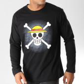 /achat-t-shirts-manches-longues/one-piece-tee-shirt-manches-longues-skull-noir-157554.html