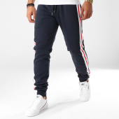 /achat-pantalons-joggings/urban-classics-pantalon-jogging-avec-bandes-tb23936-bleu-marine-blanc-rouge-157703.html