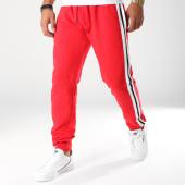 /achat-pantalons-joggings/urban-classics-pantalon-jogging-avec-bandes-tb2393-rouge-blanc-noir-157712.html