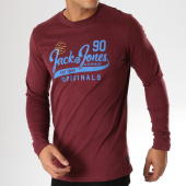 /achat-t-shirts-manches-longues/jack-and-jones-tee-shirt-manches-longues-roak-bordeaux-157870.html