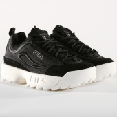 /achat-baskets-basses/fila-baskets-femme-disruptor-satin-low-1010437-25y-black-157988.html