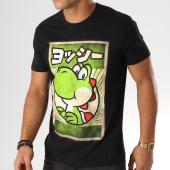 /achat-t-shirts/nintendo-tee-shirt-propaganda-yoshi-noir-157976.html