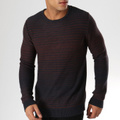 /achat-pulls/selected-pull-andrew-bleu-marine-bordeaux-chine-157958.html
