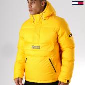 /achat-doudounes/tommy-hilfiger-jeans-doudoune-padded-popover-5015-jaune-157964.html