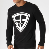 /achat-sweats-col-rond-crewneck/93-empire-sweat-crewneck-93-empire-noir-blanc-158103.html