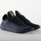 /achat-baskets-basses/adidas-baskets-femme-tennis-hu-pharrell-williams-b37079-core-navy-off-white-158199.html